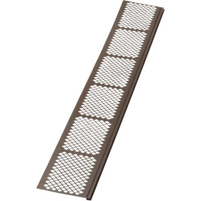 Amerimax 3 Ft. Brown Vinyl Gutter Guard