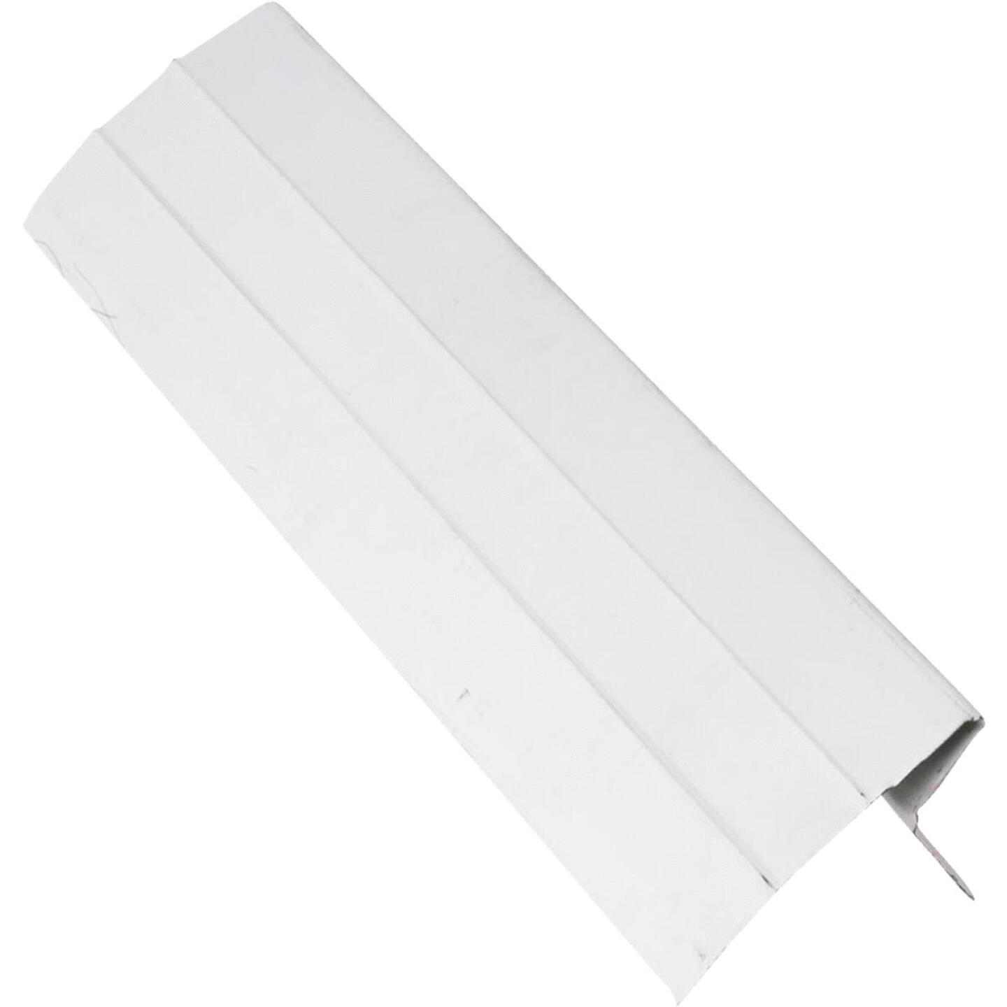 NorWesco D Galvanized Steel Roof & Drip Edge Flashing, White Image 1