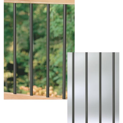 Deckorators 26 In. Bronze Aluminum Classic Baluster (10-Pack)