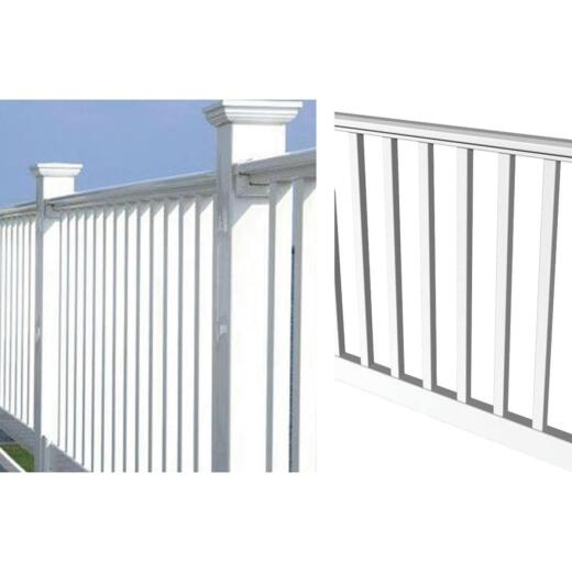 RDI 36 In. H. x 8 Ft. L. Vinyl Original Railing