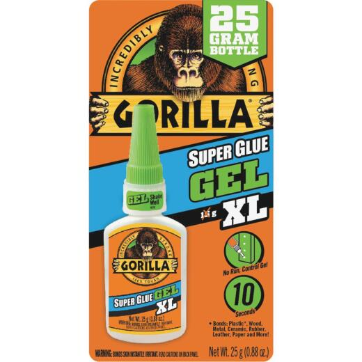 Gorilla 0.88 Oz. Gel Super Glue XL