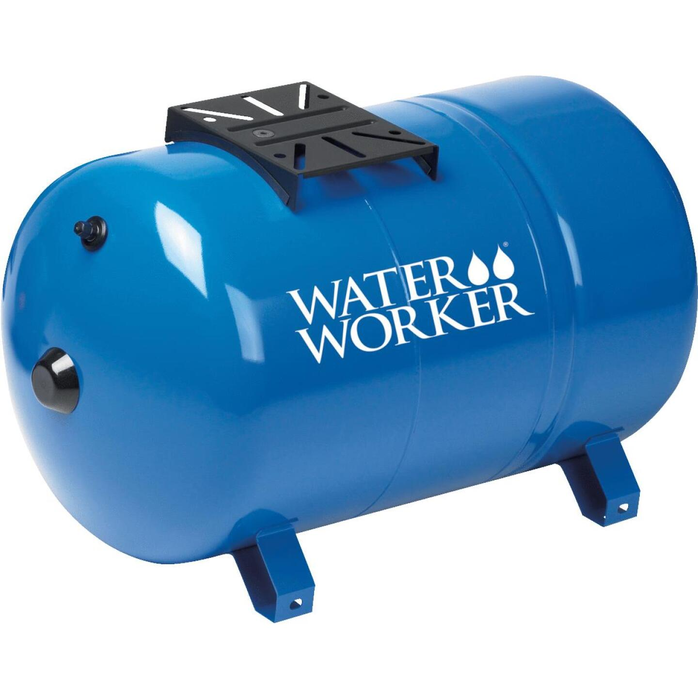 Water Worker 14 Gal. Horizontal Pre-Charged Well Pressure Tank Image 1