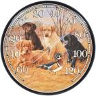"Acurite 12-1/2"" Dia Plastic Dial Puppy Indoor & Outdoor Thermometer Image 1"